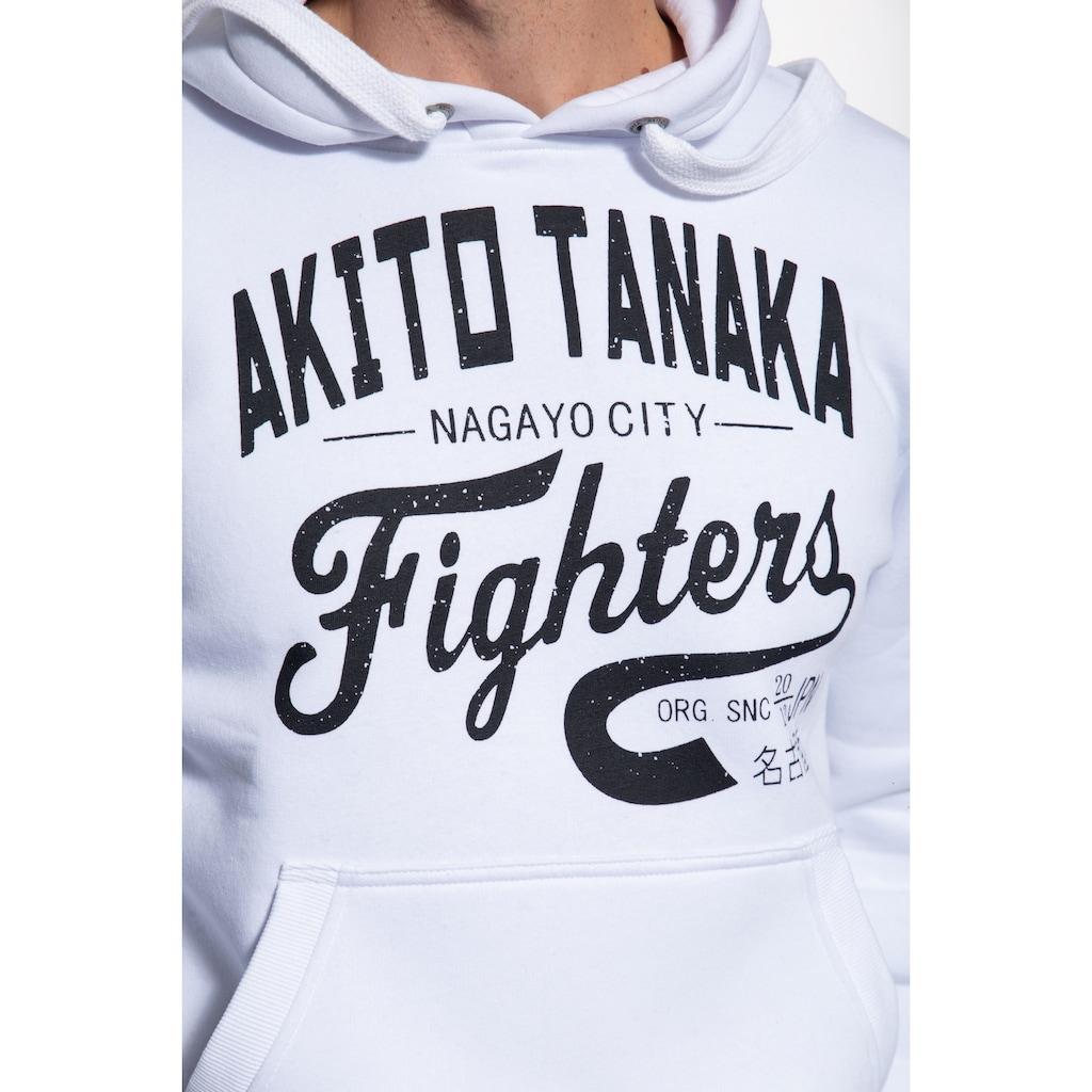 Akito Tanaka Kapuzenpullover »Fighters«, mit Prints