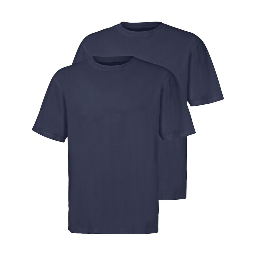 Jan Vanderstorm T-Shirt »ERKE«, aus reiner Baumwolle
