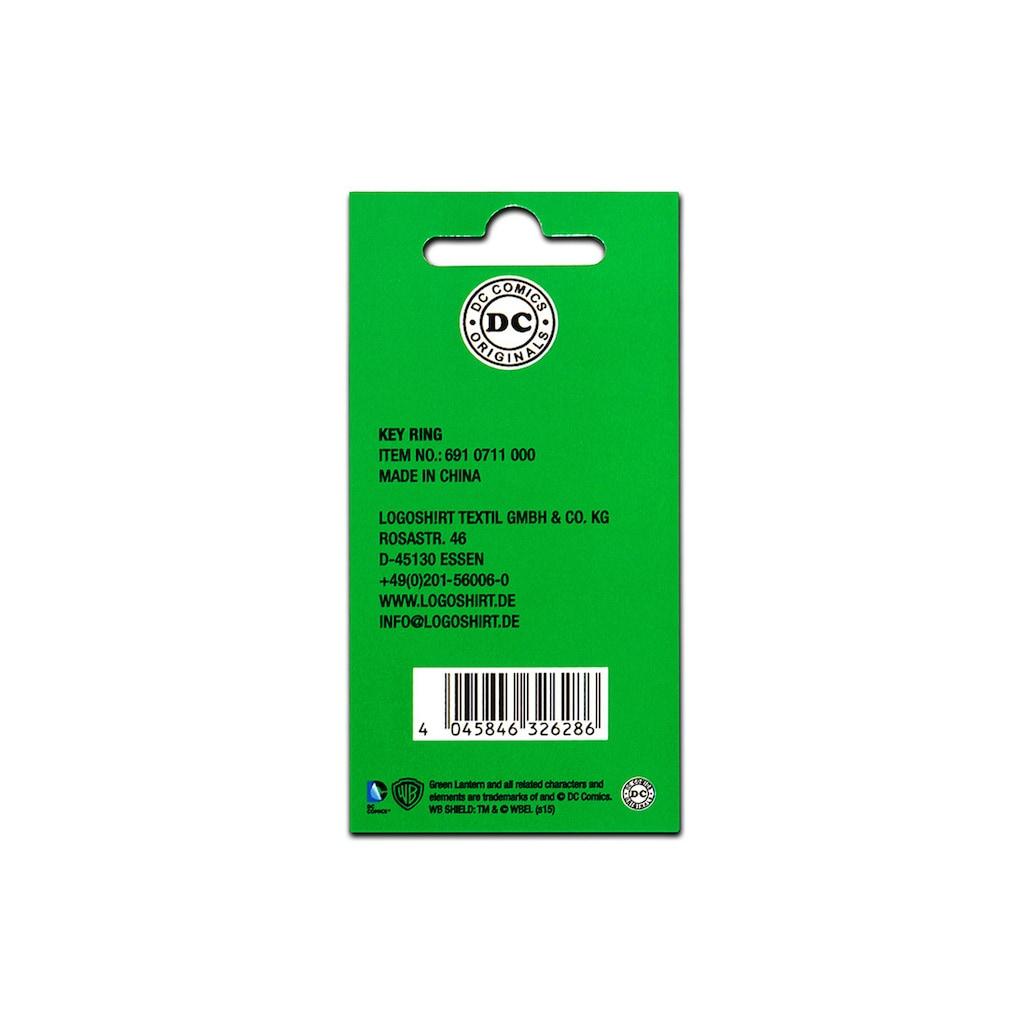 LOGOSHIRT Schlüsselanhänger mit Green Lantern-Logo