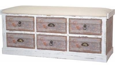 Home affaire Sitzbank »Vintage«, in zwei Farben kaufen