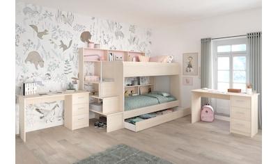 Parisot Jugendzimmer-Set »Bibop«, mit 2 Schreibtischen kaufen