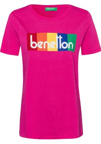 United Colors of Benetton Print-Shirt, mit Print kaufen