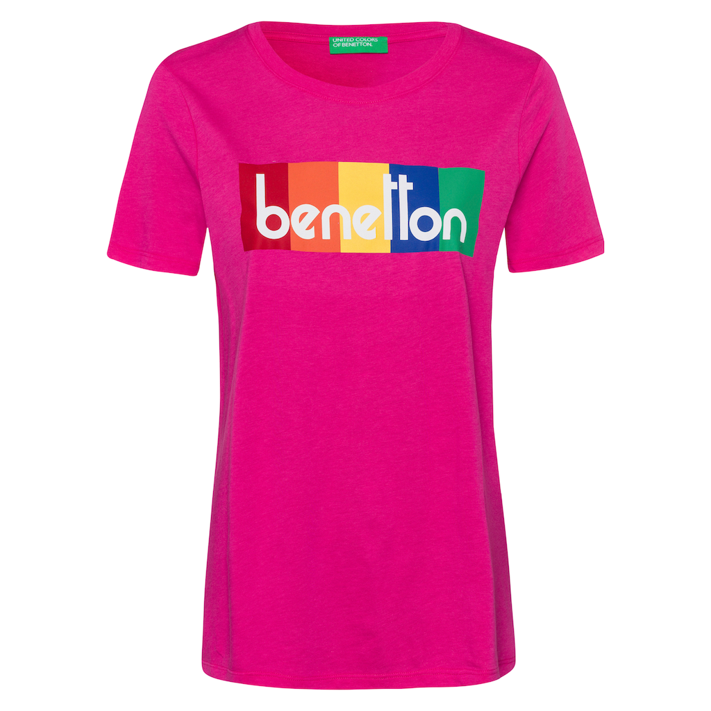 United Colors of Benetton Print-Shirt, mit Print