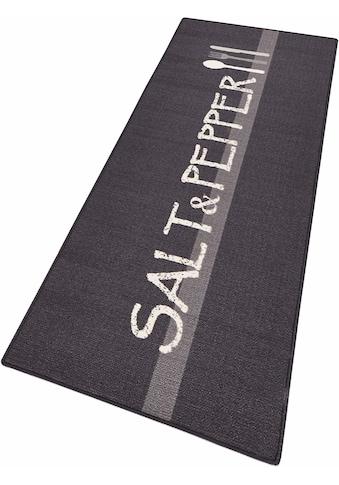 HANSE Home Küchenläufer »Salt & Pepper«, rechteckig, 8 mm Höhe, Kurzflor, rutschhemmend kaufen