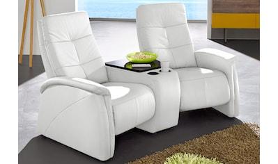 exxpo - sofa fashion 2-Sitzer, mit Relaxfunktion, integrierter Tischablage und Stauraumfach kaufen