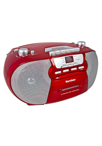 "Karcher »RR 5040 - R ""Oberon""« Stereo - CD Player kaufen"