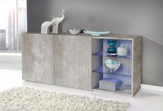 tecnos sideboard breite 160 cm kaufen bei otto. Black Bedroom Furniture Sets. Home Design Ideas