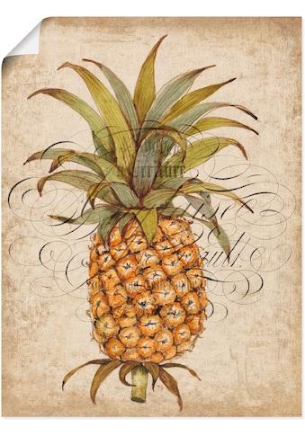 Artland Wandbild »Ananas II« kaufen