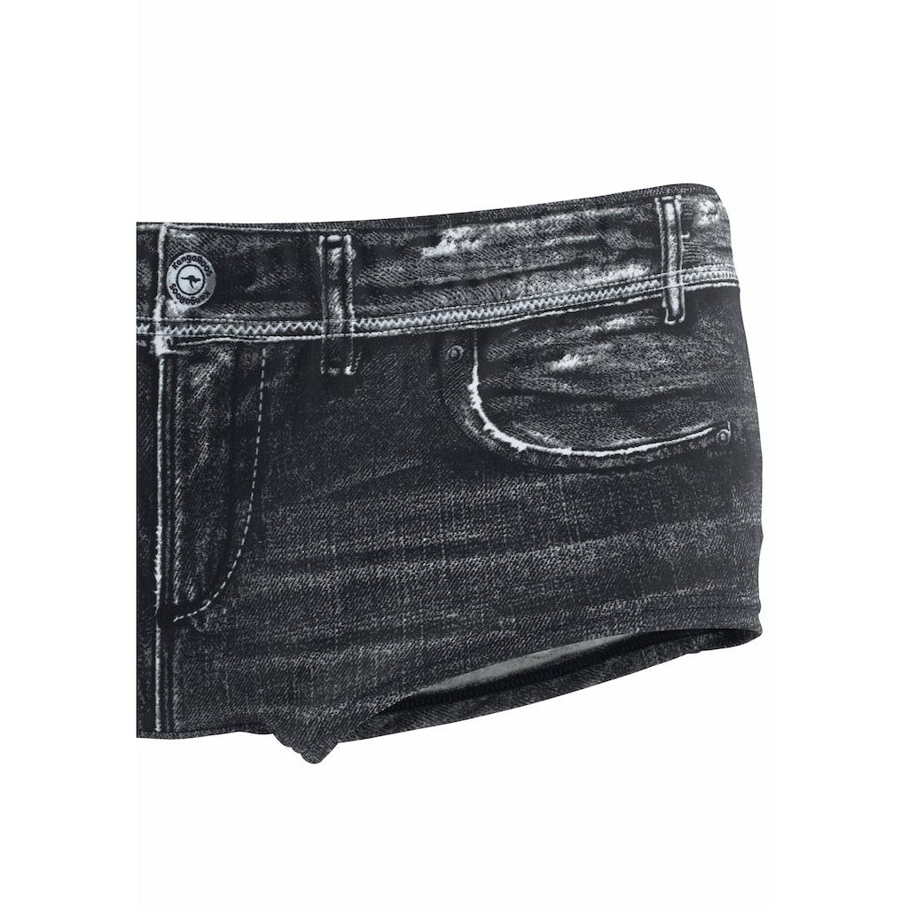 KangaROOS Bikini-Hotpants »Patty«, in angesagter Jeans-Optik