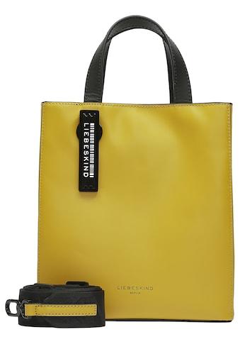 Liebeskind Berlin Mini Bag »Paper Bag Tote S«, mit kontrastfarbigen Details kaufen
