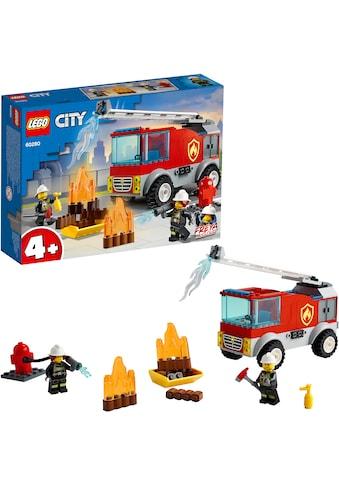 LEGO® Konstruktionsspielsteine »Feuerwehrauto (60280), LEGO® City Fire«, (88 St.),... kaufen
