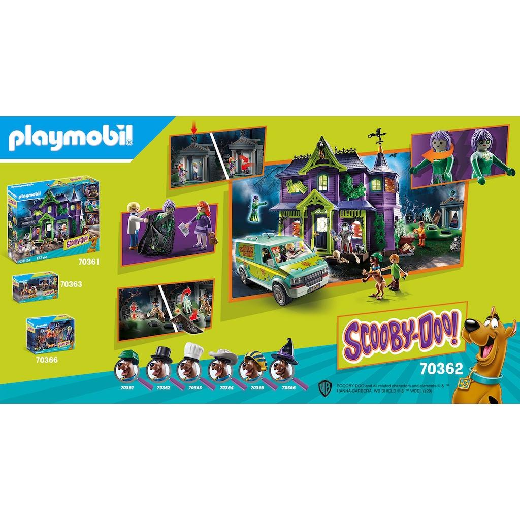 Playmobil® Konstruktions-Spielset »SCOOBY-DOO! Abenteuer auf dem Friedhof (70362), SCOOBY-DOO!«, (70 St.), Made in Germany
