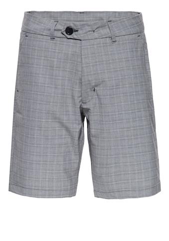 Way of Glory Shorts, mit feinem Karomuster kaufen