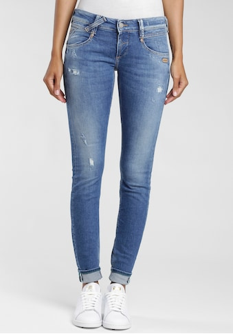 GANG Skinny-fit-Jeans »Nena«, mit Destroyed-Effekten kaufen