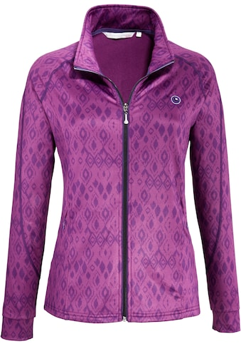 DEPROC Active Strickfleecejacke »WILLMOOSE WOMEN«, in edler Print-Optik kaufen