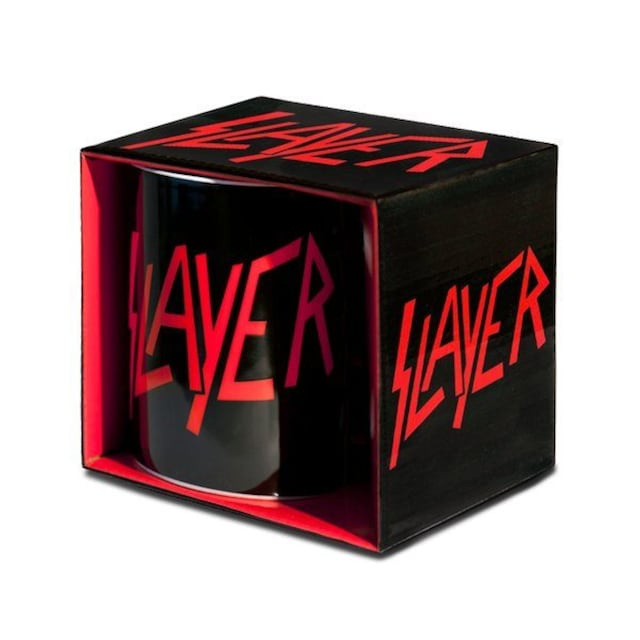 LOGOSHIRT Tasse mit coolem Band-Logo »Rock - Slayer«