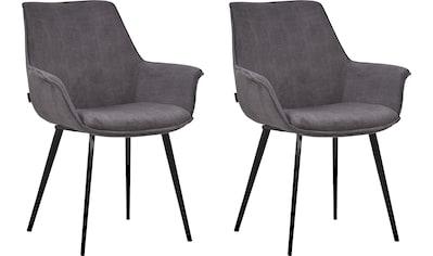 INOSIGN Esszimmerstuhl »Bente«, 2er-Set, Sitz und Rücken gepolstert, in 3... kaufen