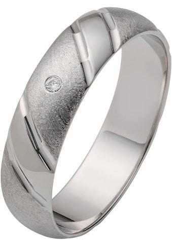 Firetti Trauring mit Gravur »glanz, matt, strukturiert, Diamantschnitt, 5,0 mm breit«,... kaufen