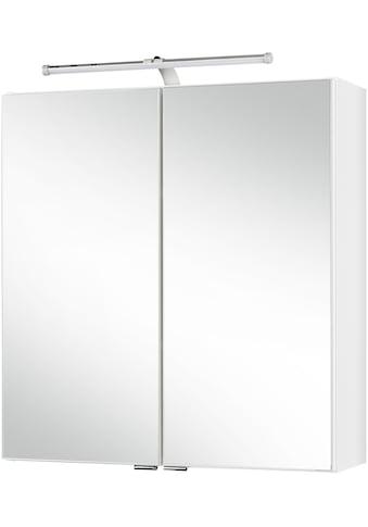 HELD MÖBEL Spiegelschrank »Turin«, Breite 60 cm, mit LED-Aufbauleuchte kaufen
