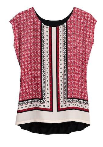 Création L Blusenshirt mit modischem Tücherdruck kaufen