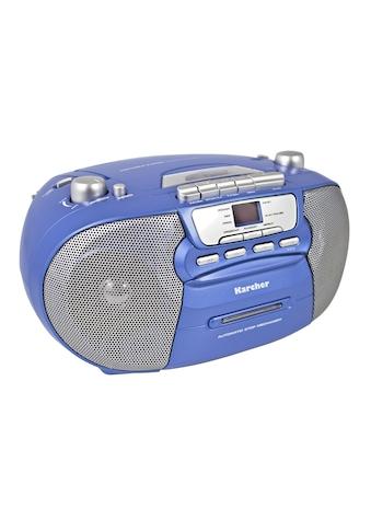 """Karcher Boombox »RR 5040-C """"Oberon""""«, (CD AM-Tuner-FM-Tuner ) kaufen"""
