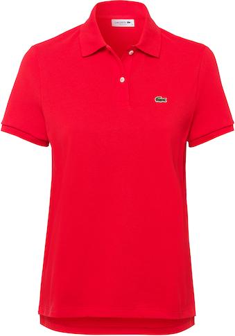 Lacoste Poloshirt, mit dem typischen Krokodil-Logo auf der Brust kaufen
