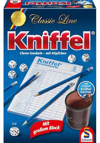 """Schmidt Spiele Spiel, """"Classic Line, Kniffel®"""" kaufen"""