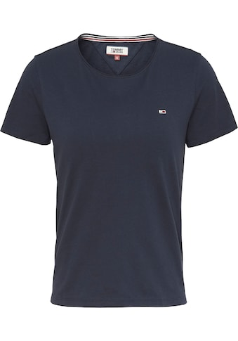 TOMMY JEANS Rundhalsshirt »TJW SLIM JERSEY C NECK« kaufen