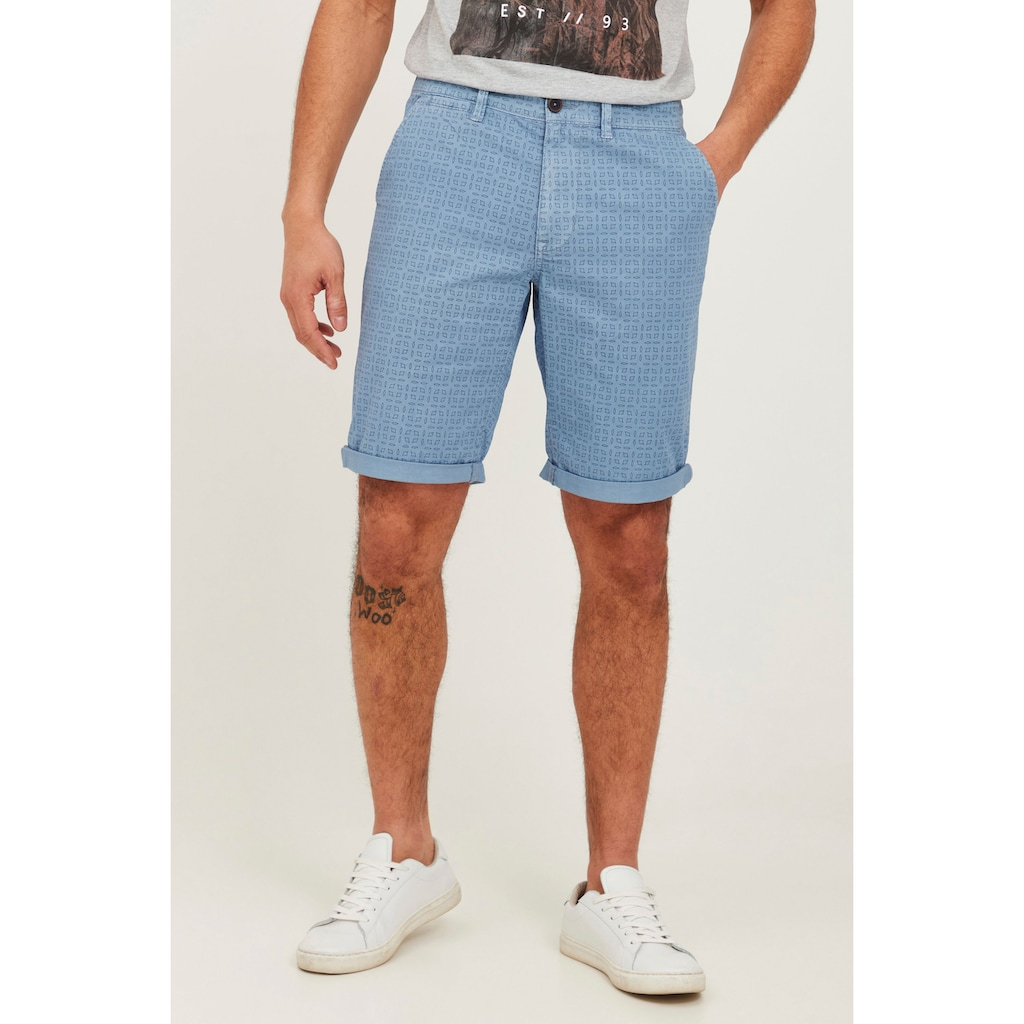 Blend Chinoshorts »Griggs«, Chino Shorts mit All Over Print