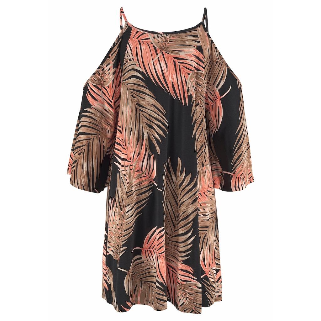 LASCANA Longshirt, mit trendigen Cut-outs