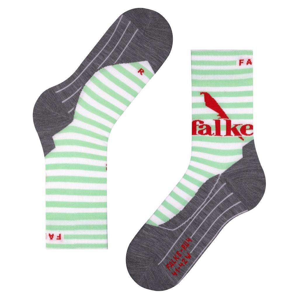 FALKE Laufsocken »RU4 Trend Running«, (1 Paar), mit mittelstarker Polsterung