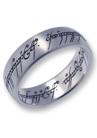 Der Herr der Ringe Fingerring »Der Eine Ring  -  Titan, 10004042« kaufen