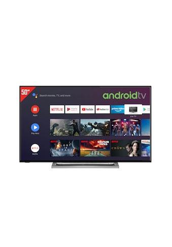 "Toshiba LED-Fernseher »50UA3A63DG«, 126 cm/50 "", 4K Ultra HD, Smart-TV-Android TV kaufen"