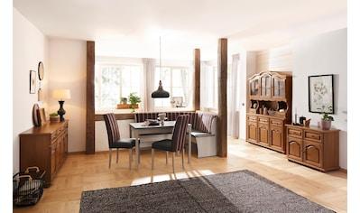 Home affaire Essgruppe »Denis«, (Set, 3 tlg.), Set bestehend aus Essbank, Tisch und 2 Stühlen kaufen