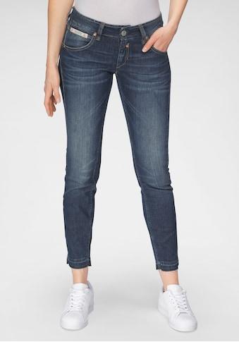 Herrlicher 7/8-Jeans »TOUCH CROPPED CASHMERE TOUCH«, mit abgesteppten Gesäßtaschen mit... kaufen