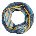 Codello Paisley-Loop aus recyceltem Polyester mit Samtbordüre