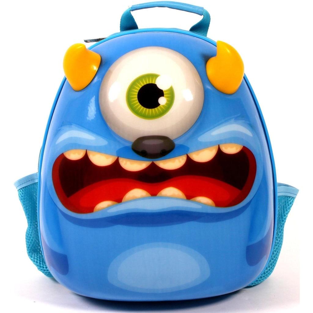 CHIC2000 Kinderrucksack »Bouncie Monster«, Reflektoren