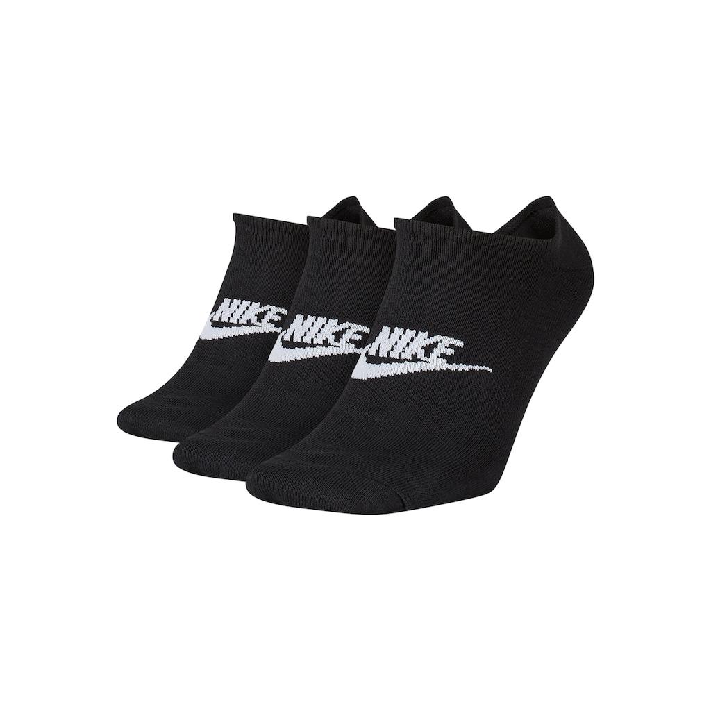 Nike Sneakersocken, (3 Paar), mit Logo auf dem Mittelfuß