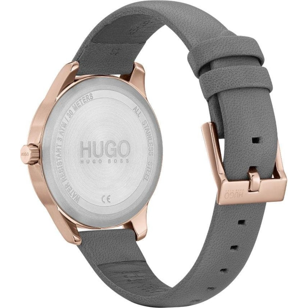 HUGO Quarzuhr »#FEARLESS, 1540044«