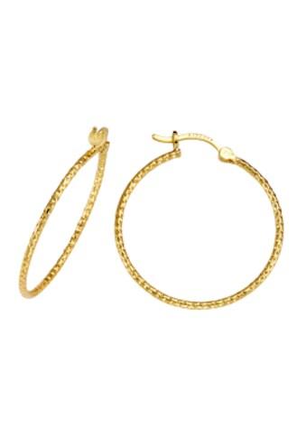 Firetti Paar Creolen »vergoldet, diamantiert« kaufen