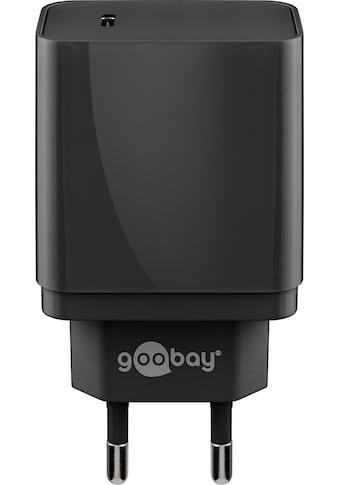 Goobay »USB - C PD Charger, 18W, Schwarz« USB - Ladegerät kaufen