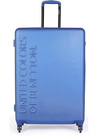 United Colors of Benetton Hartschalen-Trolley »UCB, 55 cm, Royal Blue«, 4 Rollen kaufen