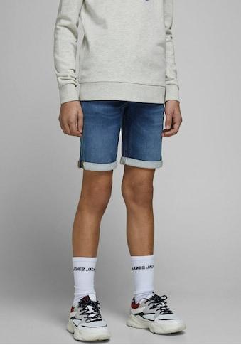 Jack & Jones Junior Jeansbermudas »JJIRICK JJICON SHORTS GE« kaufen