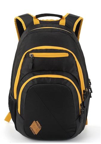 NITRO Schulrucksack »Stash 29, Golden Black« kaufen
