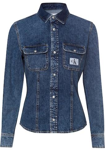 Calvin Klein Jeans Jeansbluse »ARCHIVE LEAN SHIRT«, im typischen Calvin Klein Jeans... kaufen