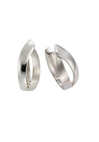 Vivance Klappcreolen »925/- Sterling Silber rhodiniert 2,0cm«, diamantiert kaufen