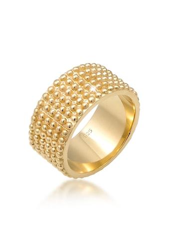 Elli Fingerring »Breit Bandring Dots Kugeln 925 Silber« kaufen