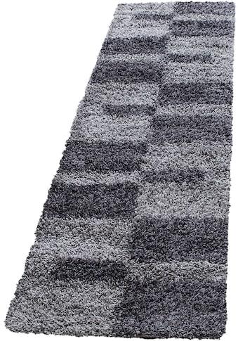 Ayyildiz Hochflor-Läufer »Gala Shaggy 2505«, rechteckig, 30 mm Höhe, 80cm x 250cm (BxL) kaufen