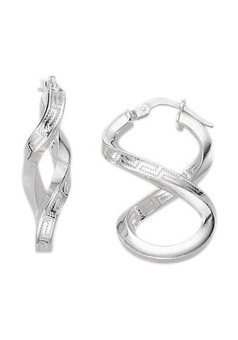 Firetti Paar Creolen »Unendlichkeitsschleife/Infinity mit Mäanderdesign« kaufen