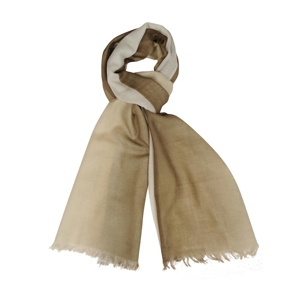 Silvio Tossi Schal aus hochwertigem Material